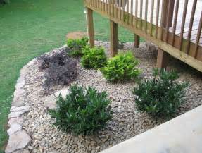 1000 ideas about landscaping around deck on