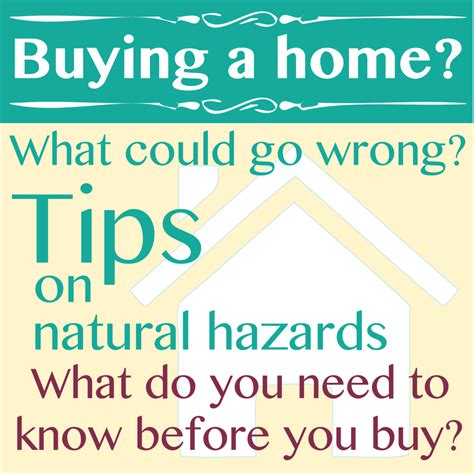 what i need to know before buying a house buying a home think natural hazards 171 alfalfa press