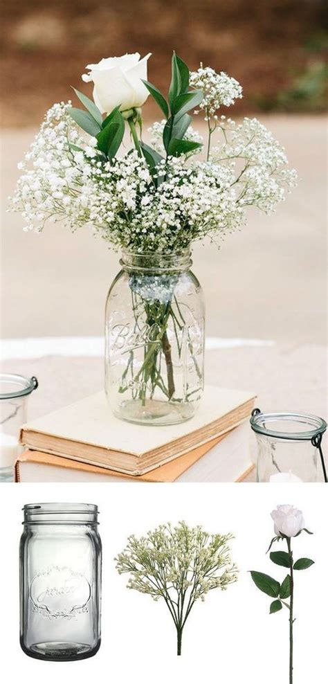 18 gorgeous jars wedding centerpiece ideas for your