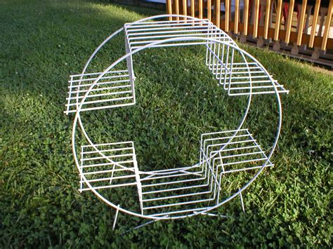 Metal Plant Rack by Vintage Metal Plant Stand