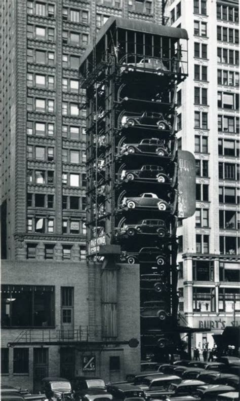 The Garage Chicago by Elevator Garage In Chicago In The 1930s History