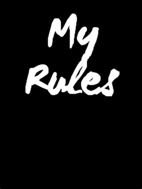 wallpaper design rules download my rules wallpaper 240x320 wallpoper 34432