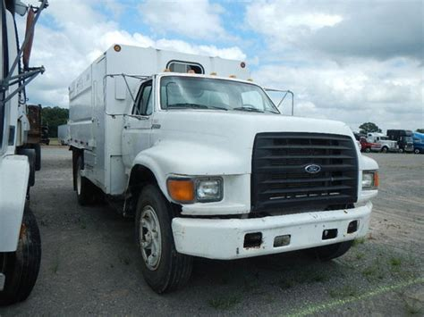 Ford F800 Chipper Trucks For Sale Used Trucks On Buysellsearch