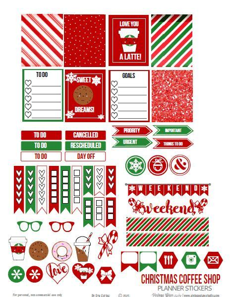 printable calendar holiday stickers 459 best images about free printables for planners on
