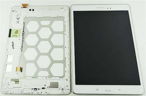Lcd Quot Galaxy Quot samsung t555 lcd white gh97 17424c samsung galaxy tab a 4g 9 7 quot t555 lcd