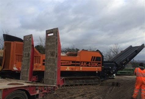 high speed rental doppstadt ak430 high speed shredder rental earth