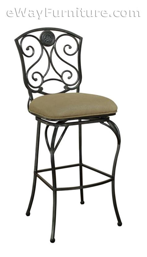 34 bar stool seat height 2 beau metal swivel 34 quot extra tall bar height bar stools