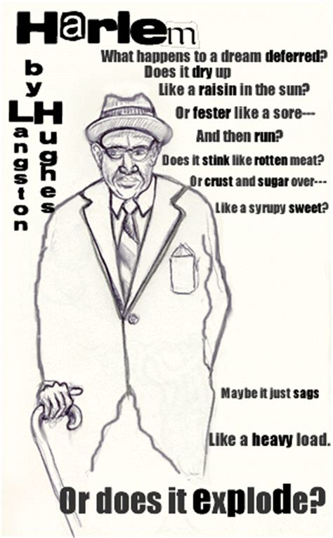 Biography Langston Hughes Quizlet | harlem by langston hughes