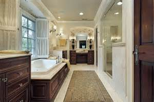 Curved Vanity Cabinets 52 Master Bathroom Designs With Beautiful Woodwork