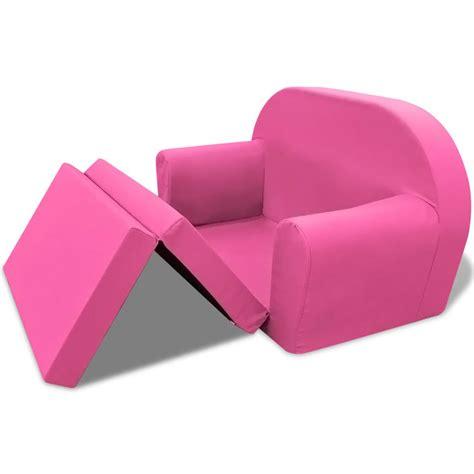 poltrona bambini articoli per vidaxl poltrona letto per bambini rosa