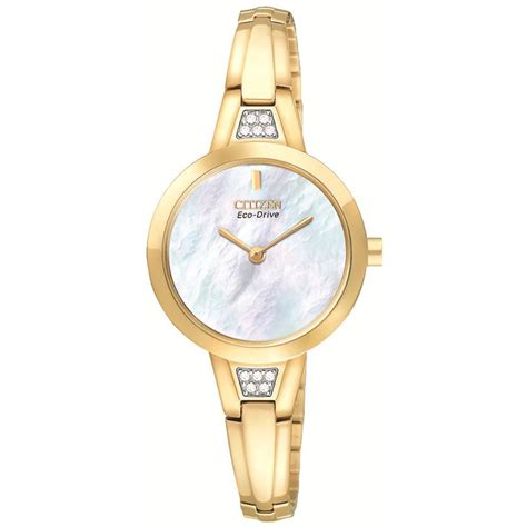 citizen ex1152 57d eco drive gold bangle