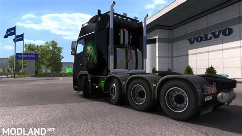 ets2 game modding net volvo fh16 8x4 mod for ets 2