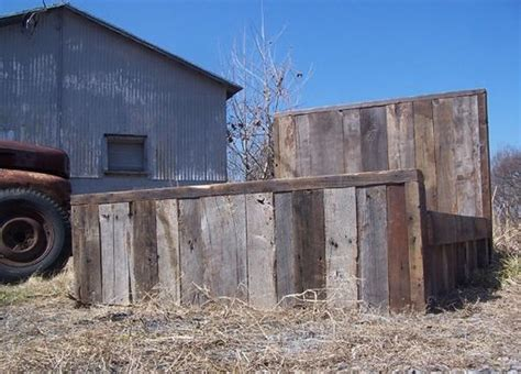 barn wood bed frame buy a hand made weathered grey reclaimed barn wood bed frame made to order from the