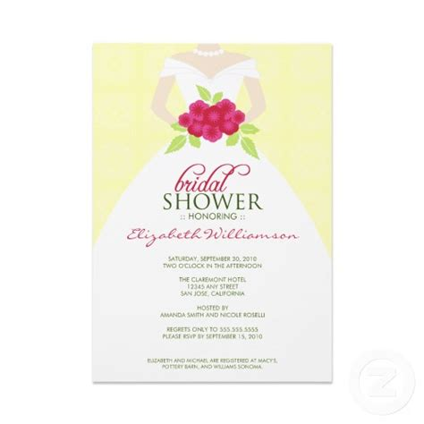 bridal shower invitation cards templates bridal shower invitations wording template lamentablecoffi65