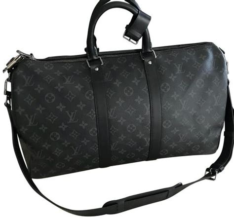 louis vuitton duffle keepall bandouliere  monogram