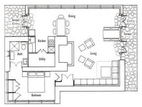 Cottage Floorplans by Frank Lloyd Wright S Seth Peterson Cottage Floor Plan