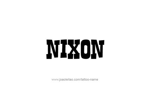pin nixon names pictures to pin on pinterest tattooskid