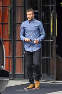 david beckham where did you get your suede boots david