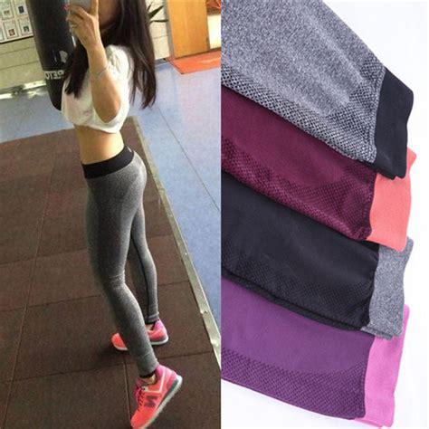 aliexpress leggings gym women yoga clothing sports pants legging tights