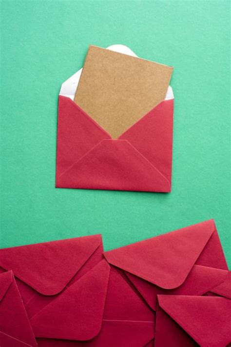 photo  blank card  festive red christmas envelope  christmas images