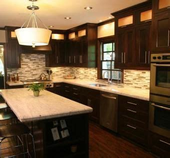 1000 ideas about dark oak cabinets on pinterest white