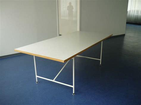 Tisch Bestehend Aus Original Egon Eiermann Tischgestell Ma 223 E