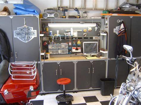 your garage set up page 6 harley davidson forums