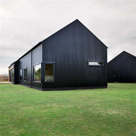 modern barns modern barn form innovative black barn by red architecture