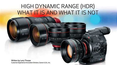 hdr canon hdr this canon white paper demystifies high dynamic range