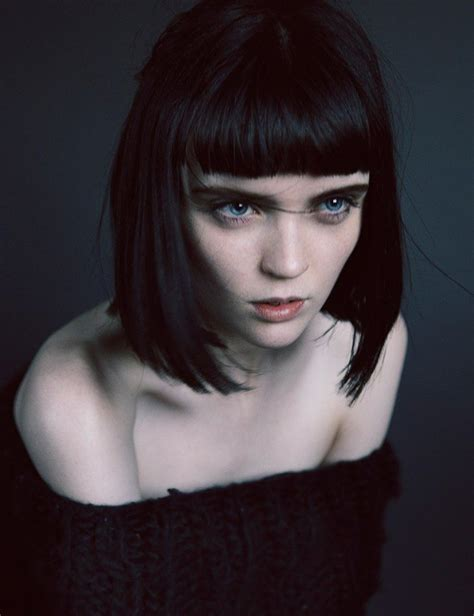 short bangs hairstyles tumblr wow pale skin black hair intense portrait pale is