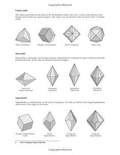 Origami Polyhedra Design - inspiration colour context etc for design on