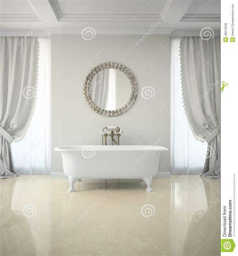 tende bagno classico interno bagno classico con il rende rotondo dello