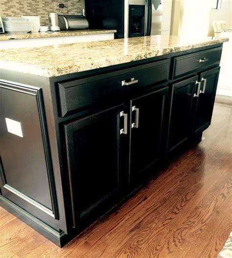 black painted kitchen island easy kitchens