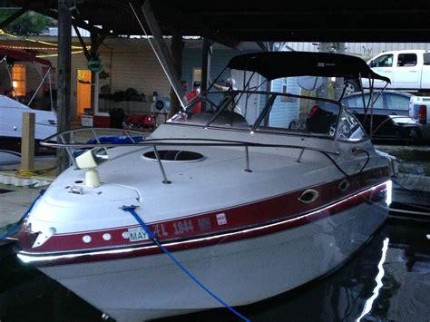 four winns boat anchor four winns 238 vista 1996 for sale for 16 000 boats