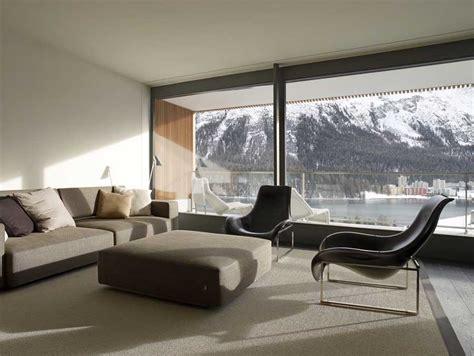 Foster Interiors the murezzan st moritz swiss housing architect e