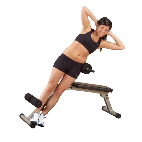 crunches on bench best fitness ab board hyperextension 152442 at
