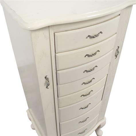 off white jewelry armoire 80 off white vintage jewelry armoire storage