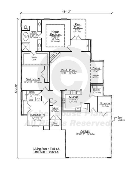 sedona zero lot house plans country home plans
