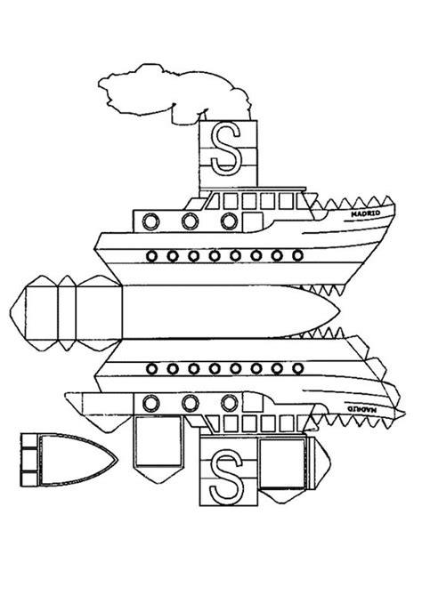 dessin bateau a vapeur coloriage de d 233 coupage ou scrapbooking dessin un bateau a