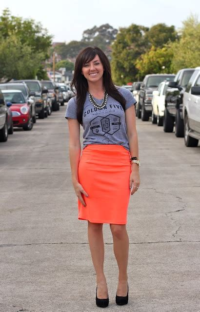pencil skirt and t dress me