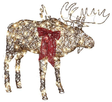 christmas moose home decor christmas moose yard decorations www indiepedia org
