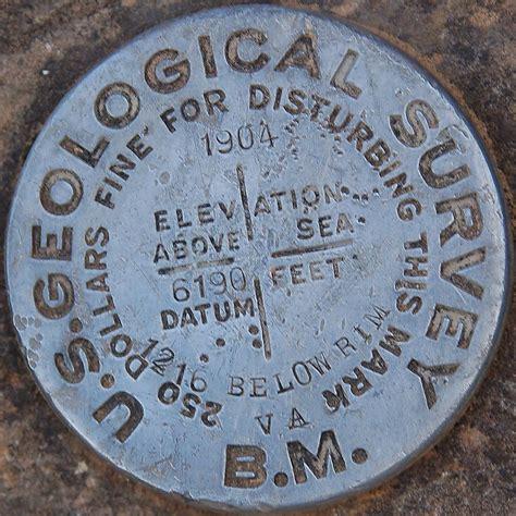 permanent bench mark u s geological survey benchm us geological survey