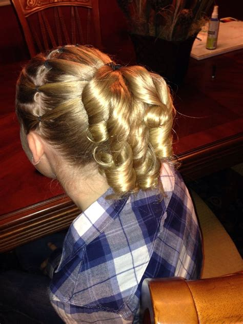 gymnastics picture hair style 17 best images about gymnastics hair styles for meets on