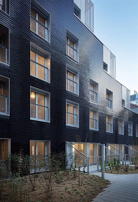 gallery of 58 social housing in antibes atelier pirollet gallery of social housing units in paris atelier du pont 6