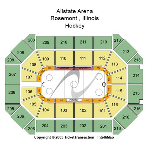 allstate arena seating pictures cheap allstate arena tickets