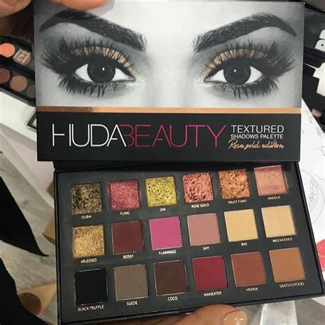 Huda Make Up Palett Dompet how does the huda gold palette look on the
