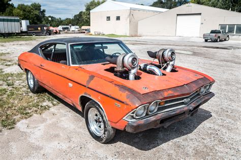 Chevelle Car by Powerful Turbo 1969 Chevrolet Chevelle 396 Ss