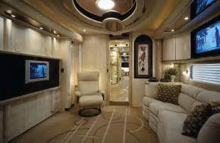 Luxury caravans interiors