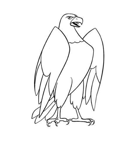 imagenes de aguilas faciles para dibujar dibujos infantiles para colorear de 225 guilas