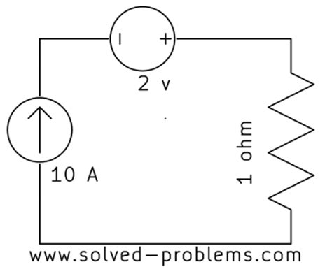 resistor in series with current source problem 1 14 current of a voltage source solved problems